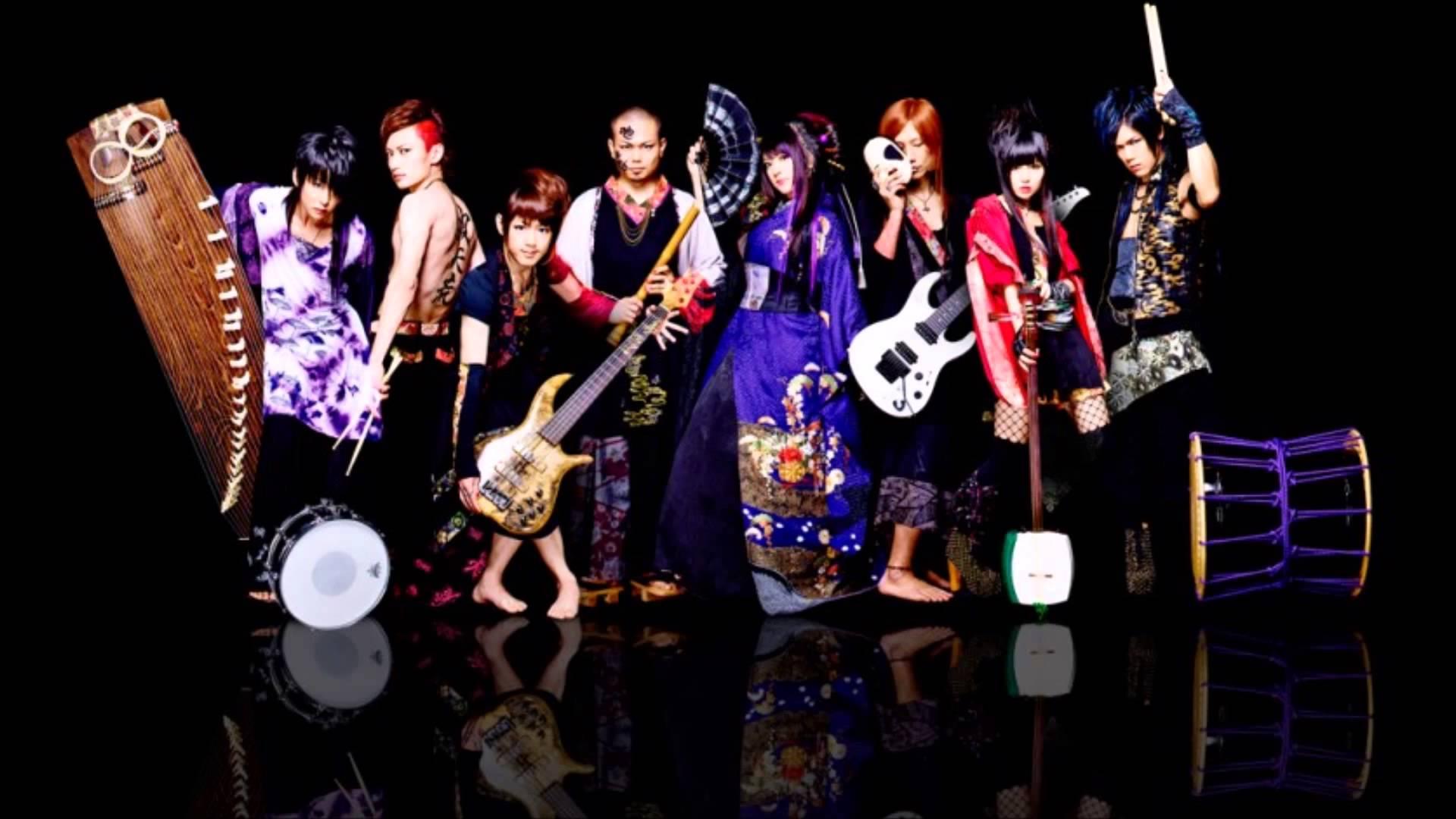Tradycyjne Japońskie instrumenty